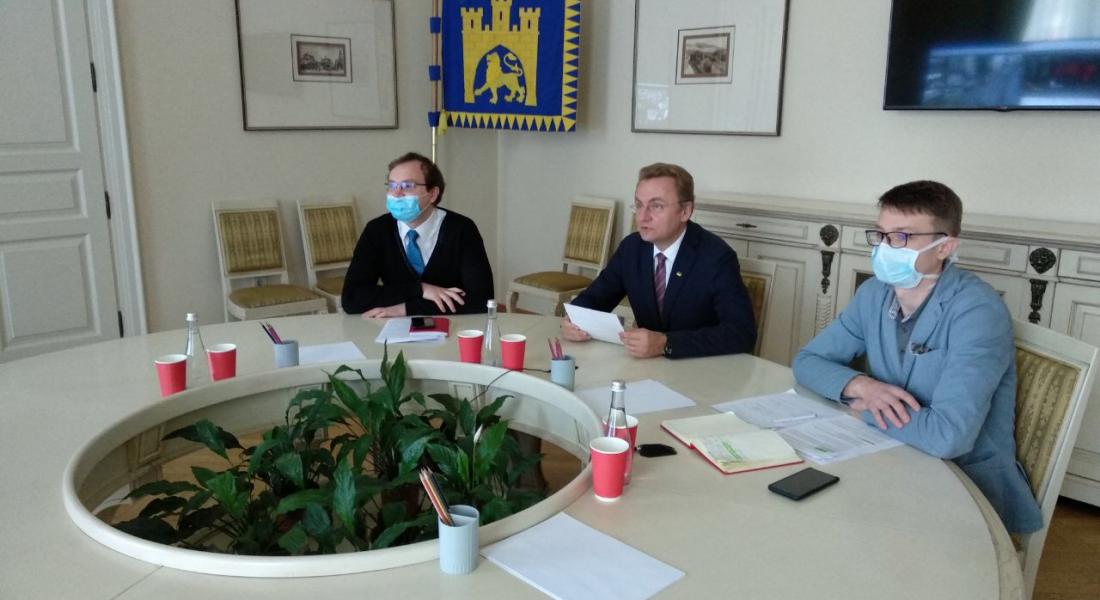 Онлайн зустріч Почесних Амбасадорів Львова