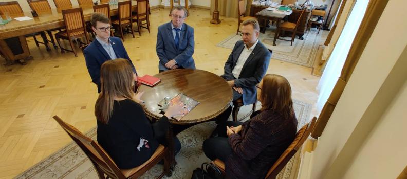Михайло Зарічний – Почесний Амбасадор Львова обговорив розвиток математичної освіти