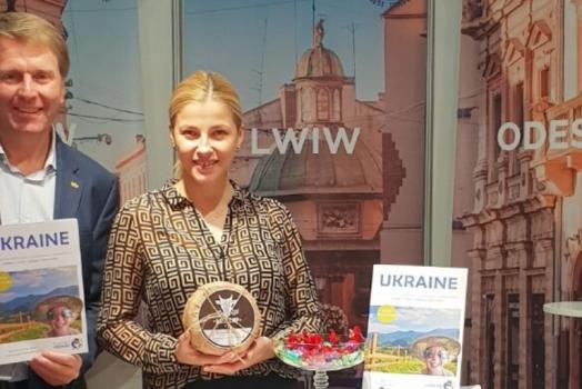 (Українська) Пауль Томандль – Почесний Амбасадор Львова презентував Львів на туристичній виставці у Відні