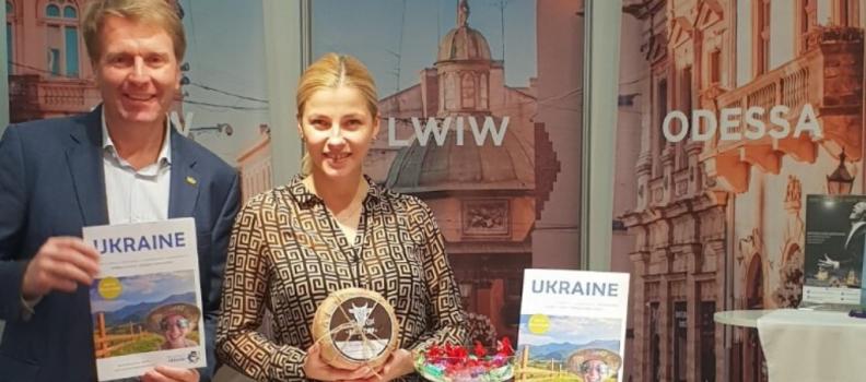 Пауль Томандль – Почесний Амбасадор Львова презентував Львів на туристичній виставці у Відні