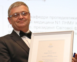 Андрій Базилевич – Почесний Амбасадор Львова нагороджений медаллю