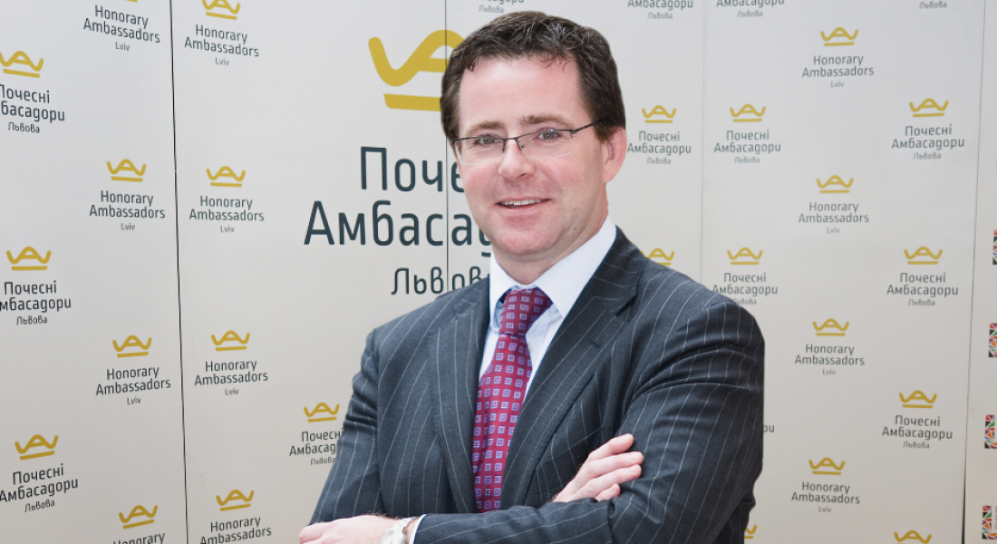 Знайомтесь! Стівен Батлер – Почесний Амбасадор Львова