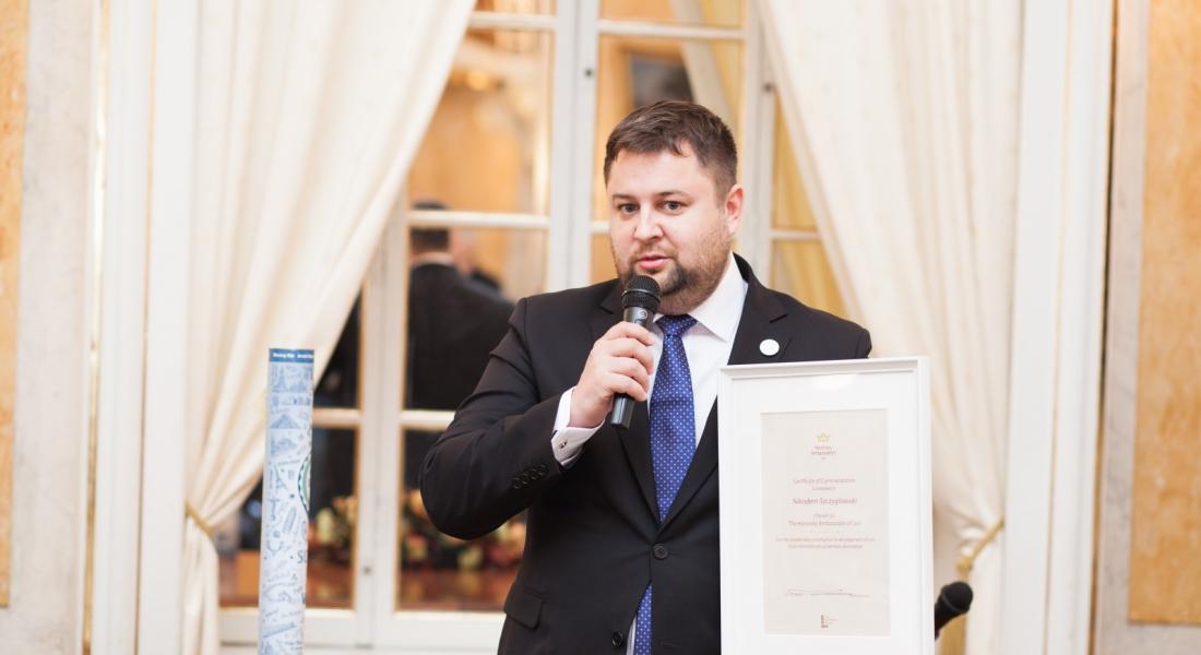 Почесний Амбасадор Львова Нікодем Щигловський підтримує Львів під час карантину