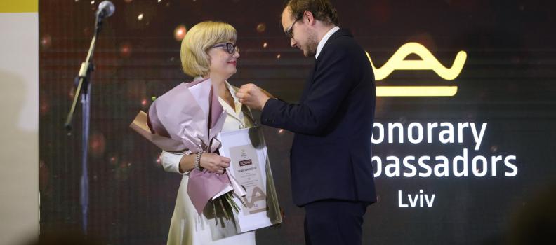 Знайомтесь! Оксана Заячківська – Почесна Амбасадорка Львова.