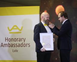 Знайомтесь! Пітер Мейєр-Расмуссен – Почесний Амбасадор Львова
