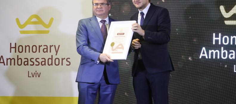 Знайомтесь! Андрій Наконечний – Почесний Амбасадор Львова!