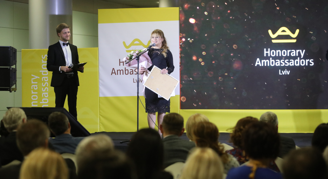 Let us present Tetyana Struk – Lviv Honorary Ambassador