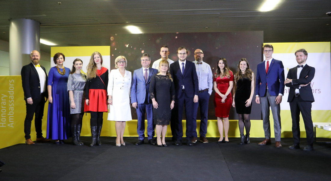 (Українська) На 5-ій ювілейні Галі представили новообраних Почесних Амбасадорів Львова