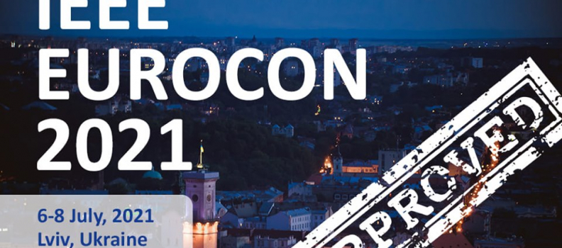 EUROCON – 2021 will be held in Lviv