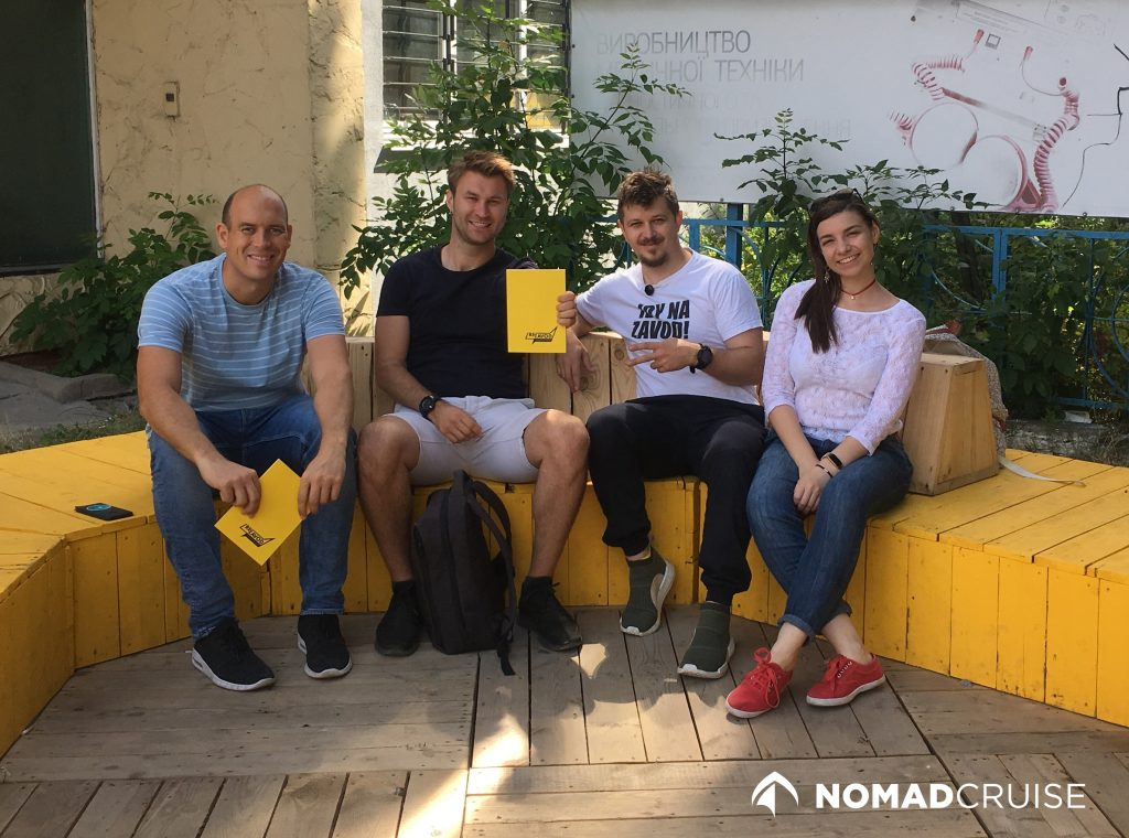 Meeting with digital nomad