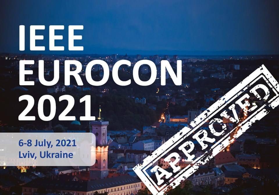 Міжнародна конференція  EUROCON – 2021 відбудеться у Львові