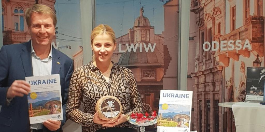 Пауль Томандль, Почесний Амбасадор Львова, презентував Львів на туристичній виставці у Відні