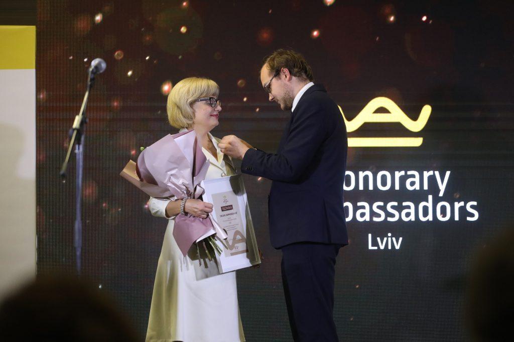 Знайомтесь! Оксана Заячківська – Почесна Амбасадорка Львова