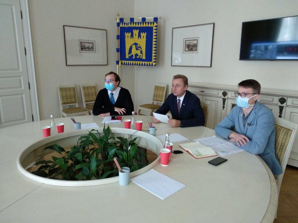 Онлайн-зустріч Почесних Амбасадорів Львова