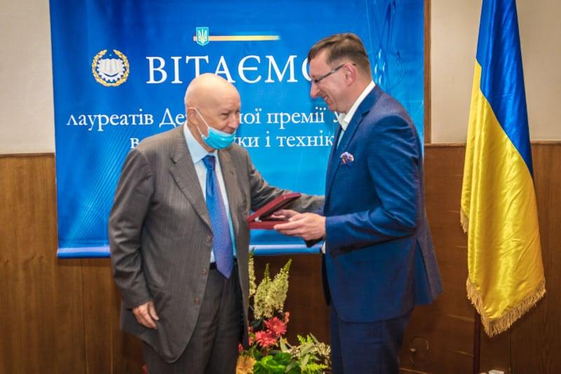 Роману Лесику, Почесному Амбасадору Львова, вручили Державну премію України