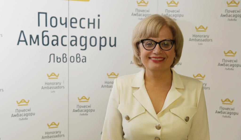 Оксана Заячківська, Почесна Амбасадорка Львова, організувала медичний симпозіум онлайн