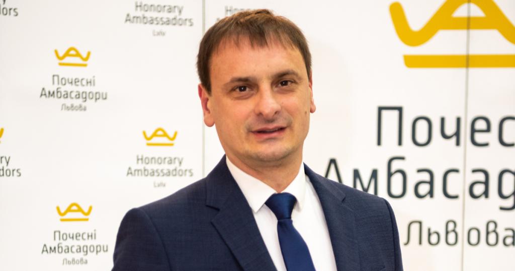 Знайомтесь! Назар Подольчак – Почесний Амбасадор Львова