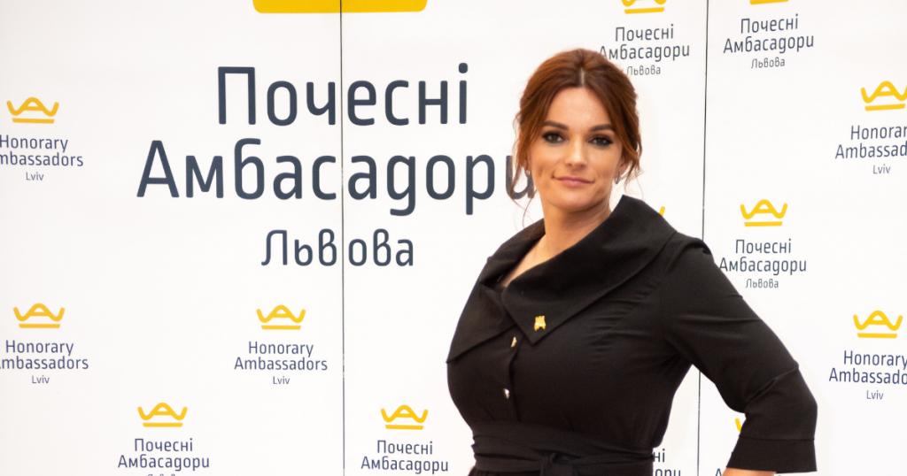 Мирослава Новосільська, Почесна Амбасадорка Львова, стала медалісткою Міжнародної конференції у Дубаї