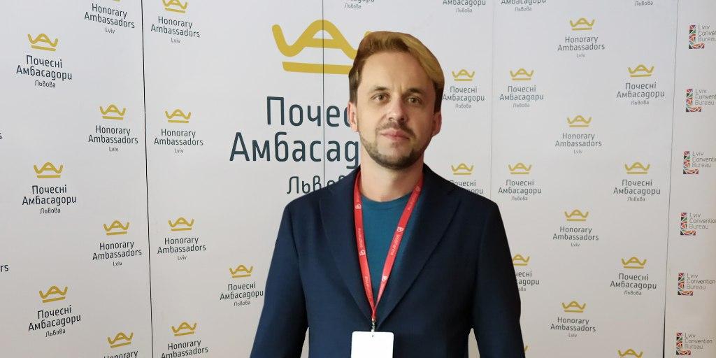 LVIV HONORARY AMBASSADOR ROMAN KIZYMA BECAME A CO-ORGANIZER OF THE CONFERENCE
