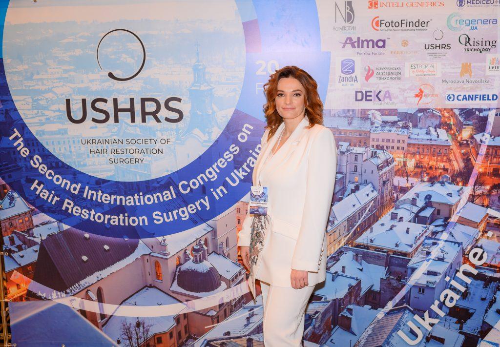 Мирослава Новосільська, Почесна Амбасадорка Львова, стала членкинею ISHRS