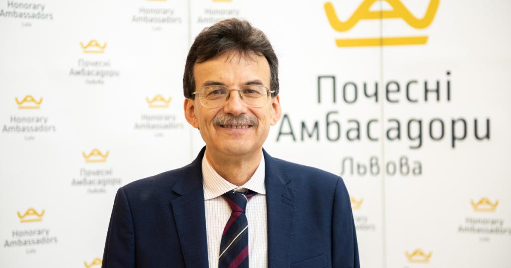 LET US PRESENT YURIJ HOLOVATCH – LVIV HONORARY AMBASSADOR