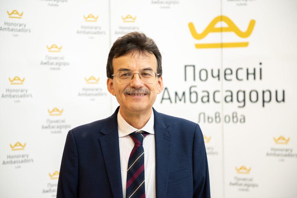 Знайомтесь! Юрій Головач  – Почесний Амбасадор Львова