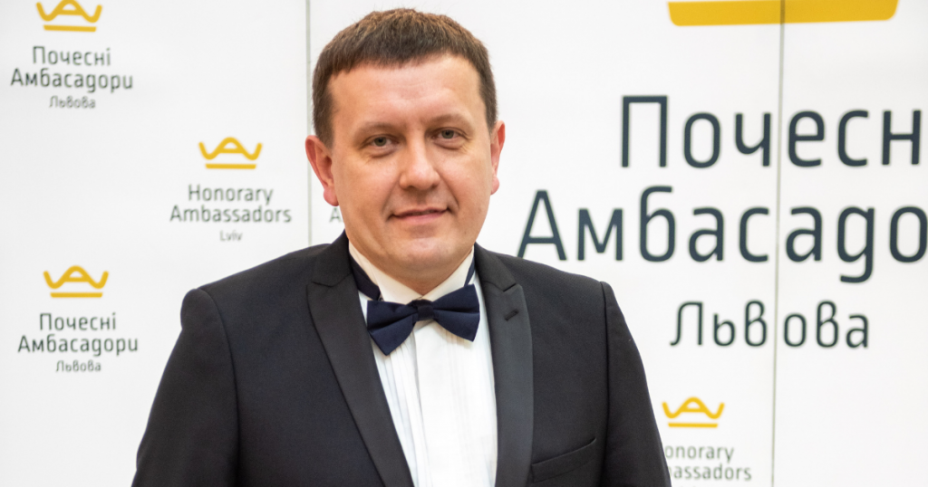 LET US PRESENT Andriy Kuzyk – LVIV HONORARY AMBASSADOR