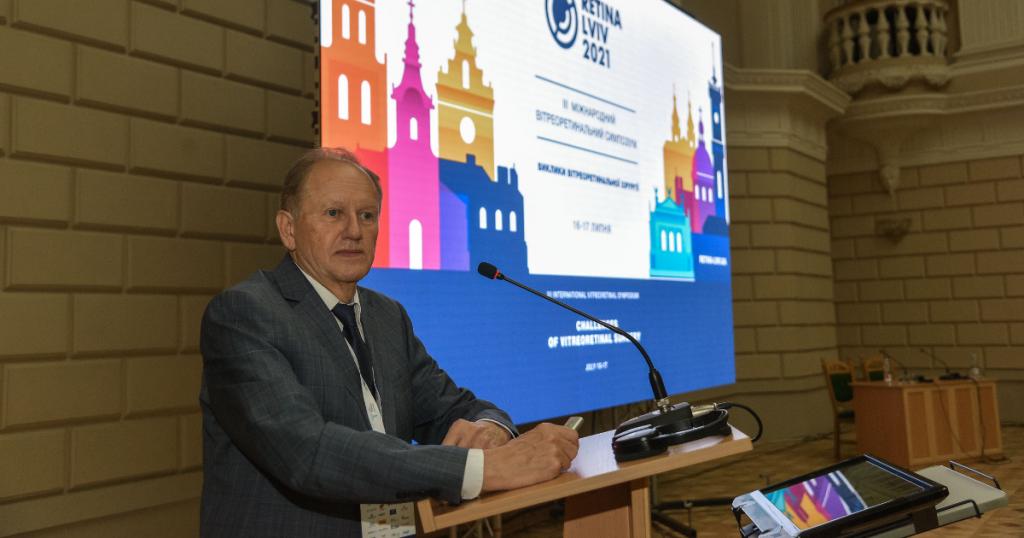 Ihor Novytskyy, Lviv Honorary Ambassador, organized symposium for ophthalmologists