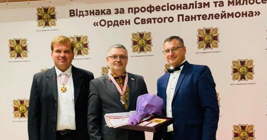 Андрій Базилевич, Почесний Амбасадор Львова, нагороджений Орденом Святого Пантелеймона